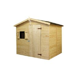 CASA MADERA CHRISTA2 ECO 12MM 243X190X211